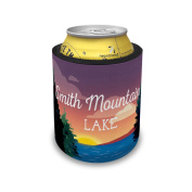 Slap Can Coolers Lake retro design Smith Mountain Lake Insulator Sleeve Covers Neonblond