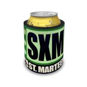 Slap Can Coolers Airportcode SXM St. Marteen Insulator Sleeve Covers Neonblond