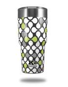 Skin Decal Wrap for K2 Element Tumbler 890ml - Locknodes 05 Sage Green (TUMBLER NOT INCLUDED) by WraptorSkinz