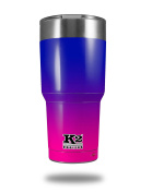 Skin Decal Wrap for K2 Element Tumbler 890ml - Smooth Fades Hot Pink to Blue (TUMBLER NOT INCLUDED) by WraptorSkinz