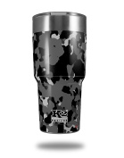 Skin Decal Wrap for K2 Element Tumbler 890ml - WraptorCamo Old School Camouflage Camo Black (TUMBLER NOT INCLUDED) by WraptorSkinz