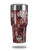 Skin Decal Wrap for K2 Element Tumbler 890ml - HEX Mesh Camo 01 Red (TUMBLER NOT INCLUDED) by WraptorSkinz