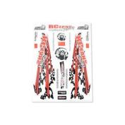 Matrixline Rcfans Racing Decals 1/10 Graphic Pc-a032