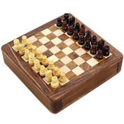 Magnetic Chess Sets And Board Wooden Toys And Games 12 X 12 Cm Travel Games
