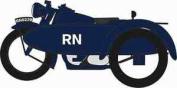 Oxford 1/76 Motorbike/side