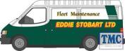 76ft3005 Oxford Diecast 1:76 Scale Oo Gauge Ford Transit Mk3 Eddie Stobart