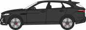Oxford Diecast 76jfp001 1:76 Oo Scale Jaguar F-pace Ultimate Black