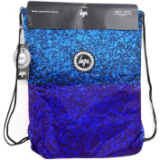 Hype Drawstring Bag - Drawstring Blue Splats