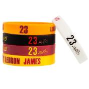 E SELECT Basketball Gear Rubber Silicone Amic Wristbands Bracelet, 5PCS Assorted Colour