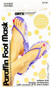 Onyx Professional Paraffin Heated Foot Mask Lavender Scented Deeply Moisturises and Softens Feet with Coconut Oil and Shea Butter