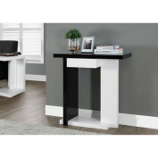 Hawthorne Ave White 80cm Accent Table