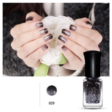Vovomay Thermal Nail Varnish Colour Changing Peel Off Varnish Beauty Nail Polish (ColorH)