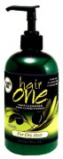 Hair One Cleanser and Conditioner with Olive Oil for Dry Hair 350ml by FISK INDUSTRIES, INC