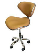 Black Technician Stool for Salon, Spa, and Medical
