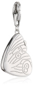"Esprit Women ""s Charm 925 Sterling Silver Coral ESCH91248A000"