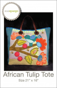 African Tulip Tote Pattern by Sue Spargo