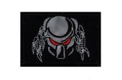 Reflective Predator Alien Movie Arnold Army Morale Military Hook Patch