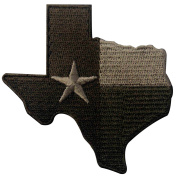 Tactical Texas State Flag Embroidered Emblem Iron On Sew On TX Patch - Multitan