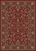 Oriental Classics Mahal Red Rug Rug Size