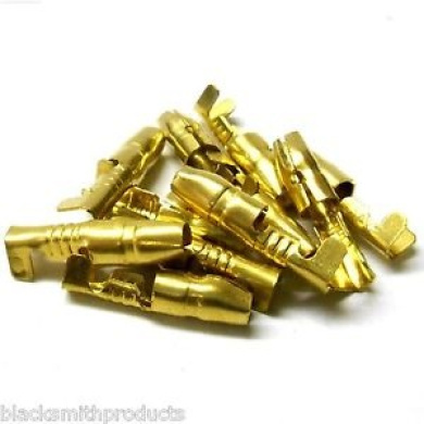 L4245 Motor Wire Connector Gold 85211-4a X 10
