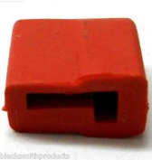 C0122 Rc Battery T-plug Rubber Cap Hat Cover X 1 Red