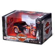 Harley Davidson Side 3 Wheel Car-servi 1:18 Kids Toy Assorted Style Sold Single
