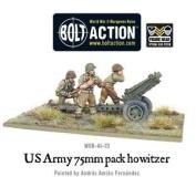 Bolt Action Bnib 75mm Pack Howitzer