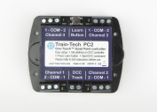 Pc2 Train-tech One Touch Dcc Quad 4 Way Point Controller Decoder - Model Railway