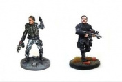John Connor And Lieutenant New Warlord Games