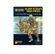 Us Army Veteran Infantry Squad (winter) Bolt Action Warlord Games 28mm