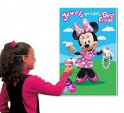 Minnie Mouse Clubhouse Party Game Disney Jewels Girls Birthday Fun Enjoy Games