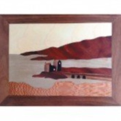 Eilean Donan Castle Traditonal Marquetry Kit With Introductory Dvd Suit Beginner
