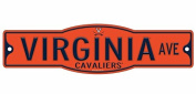 Virginia Cavaliers 10cm x 43cm Street Sign NCAA