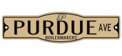 Purdue Boilermakers 10cm x 43cm Street Sign NCAA