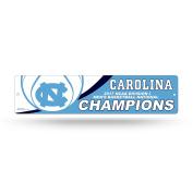 NCAA North Carolina Tar Heels 2017 Men's National Basketball Champions High-Res Plastic Street Sign, Carolina Blue, White, 10cm by 41cm