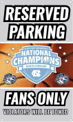 UNC Tar Heels 2017 NCAA Men's National Basketball Champs Metal Sign