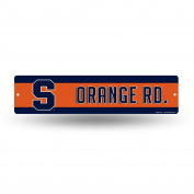 NCAA Syracuse Orange High-Res Plastic Street Sign