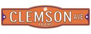Clemson Tigers 10cm x 43cm Street Sign NCAA