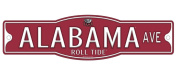 "Alabama Crimson Tide ""Roll Tide"" 10cm x 43cm Street Sign NCAA"