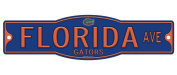 Florida Gators 10cm x 43cm Street Sign NCAA