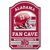 Collegiate Fan Shop Authentic NCAA Fan Cave Wooden Sign. Stake Your Territory with This Sign. For the Office or Man Cave. This 28cm x 43cm Sign Let's Everyone Know Your Team