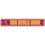Arizona State Sun Devils Plastic Street Sign