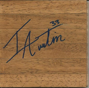 Isaiah Austin Signed 6x6 Floorboard Baylor - Autographed College Floorboards
