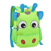 Children Small School Backpack Lovely Giraffe Design Lunch Bag for Kids