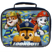 """Paw Patrol Alpha Pups 2 Rubble, Marshall and Chase """"To the Lookout"""" Insulated Lunch Box"""