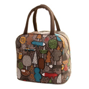Lunch Bags,DEESEE(TM) Thermal Insulated Tote Picnic Lunch Cool Bag Cooler Box Handbag Pouch