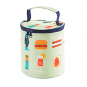Lunch Bags,DEESEE(TM) Portable Insulated Thermal Cooler Lunch Box Tote Storage Bag Picnic Container