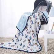 LIMITED EDITION CARS,TRUCKS,aeroplanes REVERSIBLE BABY BLANKET