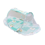 Fabal Summer Portable Baby Bed Folding Mosquito Net Cushion Mattress