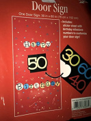 Adult Birthday Milestone Door Sign Customise for 30th 40th 50th 60th Birthday